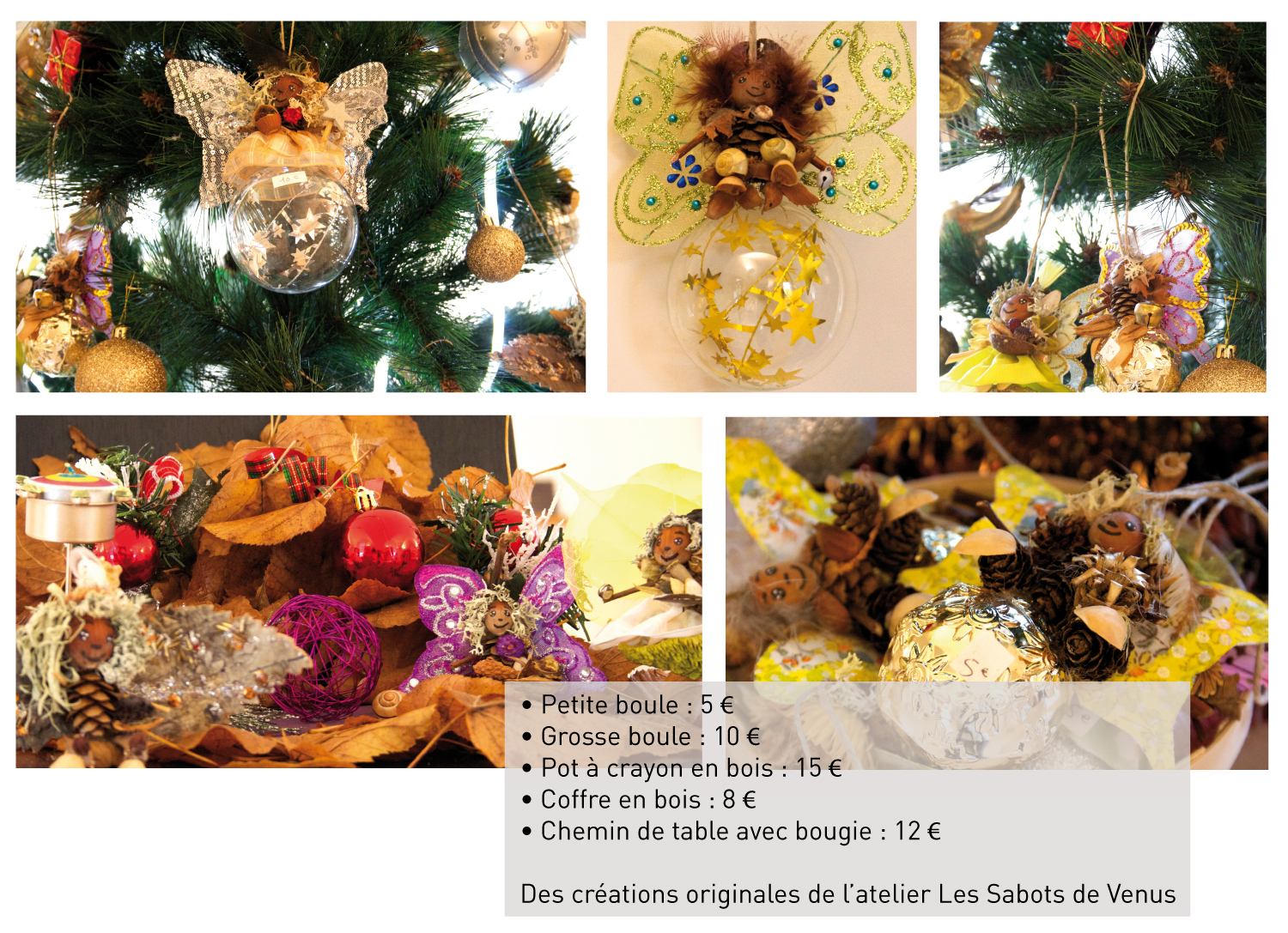 Boutique de Noël_décorations
