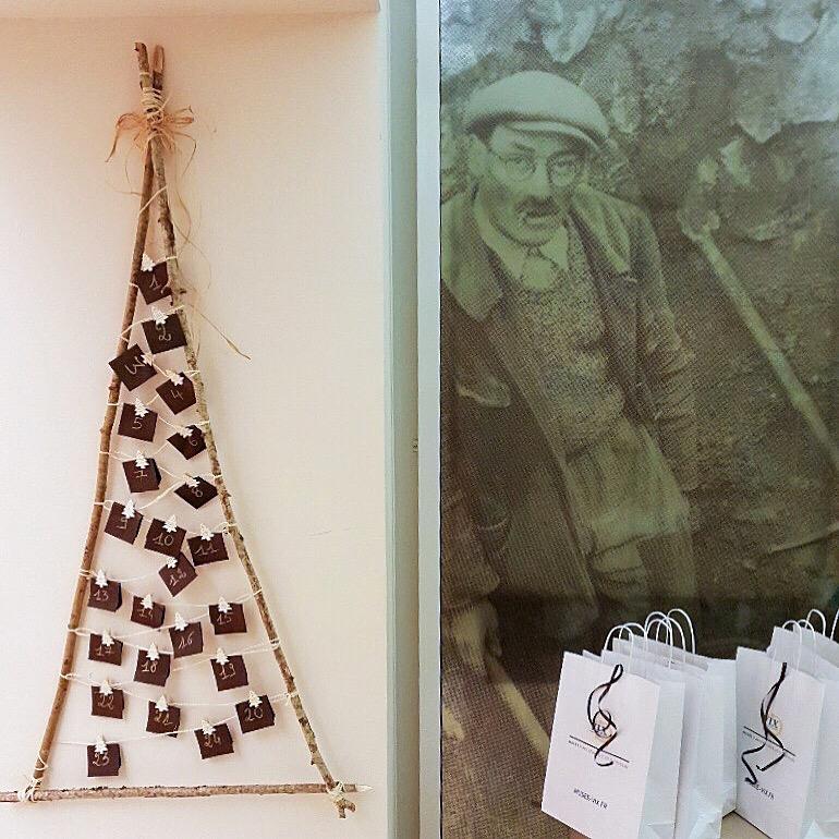 Boutique de Noël musée Vix