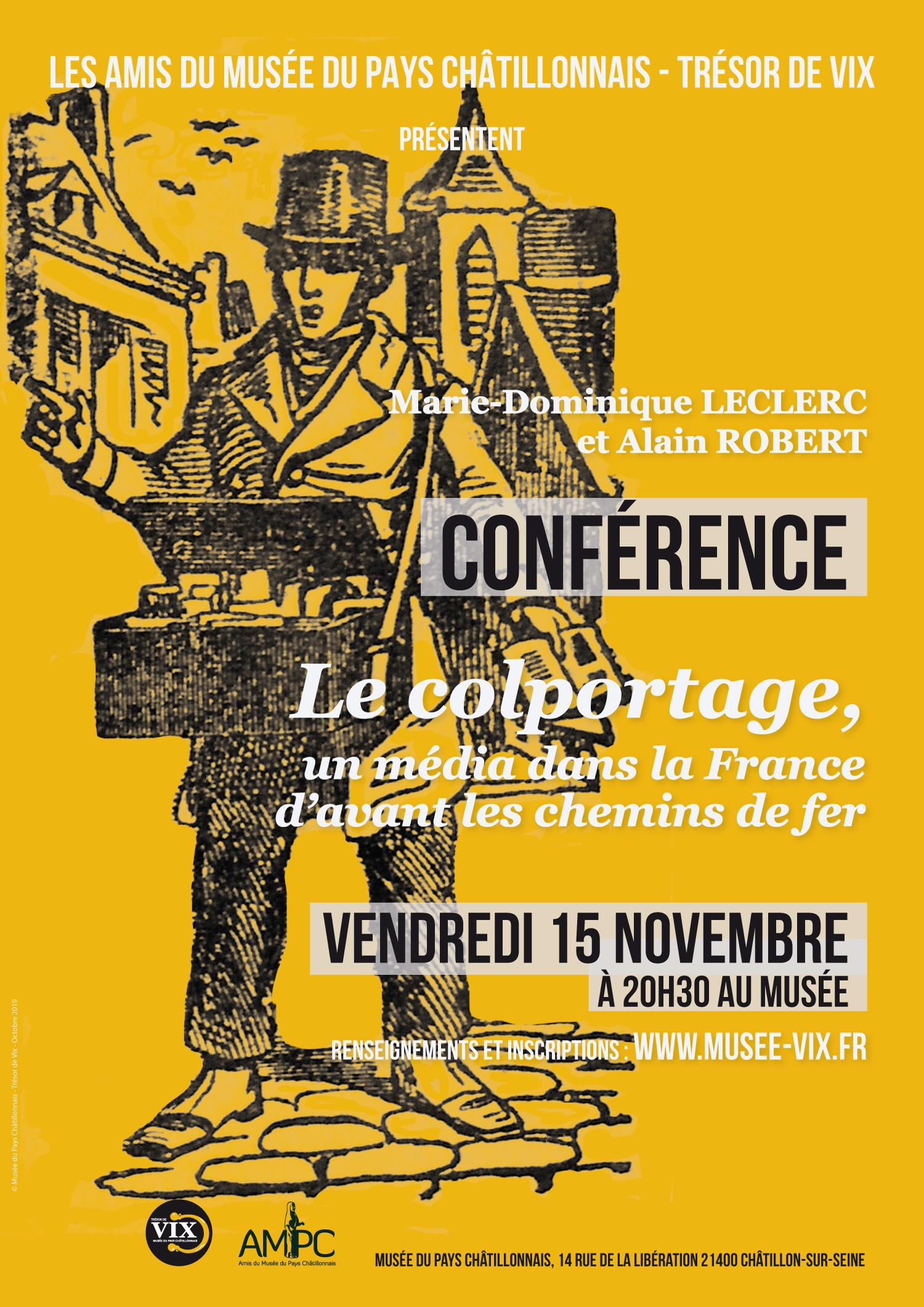 Conférence Colportage