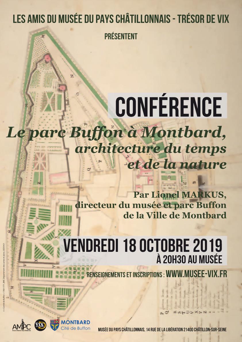 Affiche conférence Lionel Markus