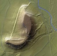 Relevés LIDAR du mont Lassois, Vix