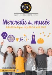Affiche Mercredis du musée